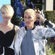 """Portia de Rossi et sa femme Ellen Degeneres lors de la première mondiale de Disney-Pixar """"Finding Dory"""" à Hollywood, le 8 juin 2016."""