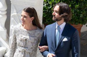 Mariage de Charlotte Casirahi : Sa robe, sa coiffure... Une mariée ultramoderne