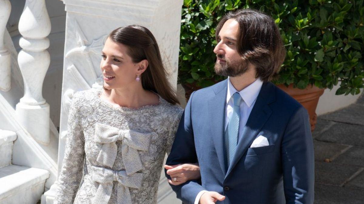 Mariage de Charlotte Casirahi  Sa robe, sa coiffure Une mariée  ultramoderne , Purepeople