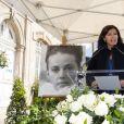 Anne Hidalgo - Inauguration de la promenade Jeanne Moreau à Paris le 6 juin 2019. © Pierre Perusseau/Bestimage