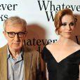 """Woody Allen et la superbe Evan Rachel Wood, lors de l'avant-première de """"Whatever Works"""", au Gaumont Opéra, à Paris, le 19 juin 2009 !"""