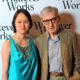 """Soon-Yi et Woody Allen, lors de l'avant-première de """"Whatever Works"""", au Gaumont Opéra, à Paris, le 19 juin 2009 !"""