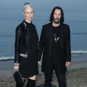 Keanu Reeves : Soirée à la plage avec sa compagne, Miley Cyrus et Amber Heard