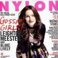 La charmante Leighton Meester en couverture de Nylon !