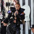 "Jennifer Lopez chante sur le plateau de l'émission ""Today"" sur la NBC à New York City, New York, Etats-Unis, le 6 mai 2019."