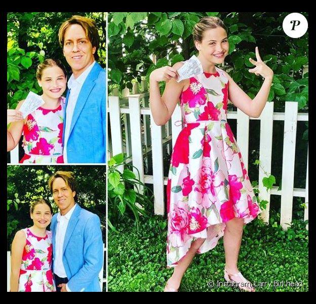 Larry Birkhead partage une photo de sa fille Dannielynn le 5 juin 2019.