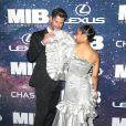 """Chris Hemsworth et Tessa Thompson à la première mondiale du film """"Men In Black International"""" au cinéma AMC Loews Lincoln Square 13 à New York City, New York, Etats-Unis, le 11 juin 2019."""