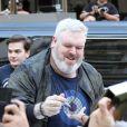 Kristian Nairn - L'équipe de Game of Thrones salue leurs fans à leur arrivée au Comic Con à San Diego, le 21 juillet 2017