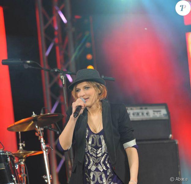 M6 Music Live à Issy les Moulineaux le 20 juin 2009 : Amandine Bourgeois