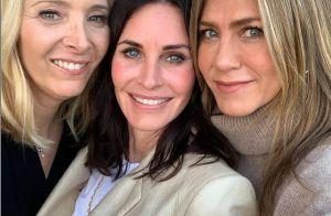 Courteney Cox, Jennifer Aniston et Lisa Kudrow (Friends) de nouveau réunies !
