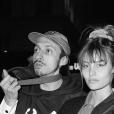 Le mannequin belge Lena Simonne et Roméo Elvis, mai 2019.