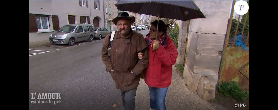 """Vincent et sa prétendante Pascale - Extrait de l'émission """"L'amour est dans le pré"""", diffusée lundi 24 septembre 2018 - M6"""