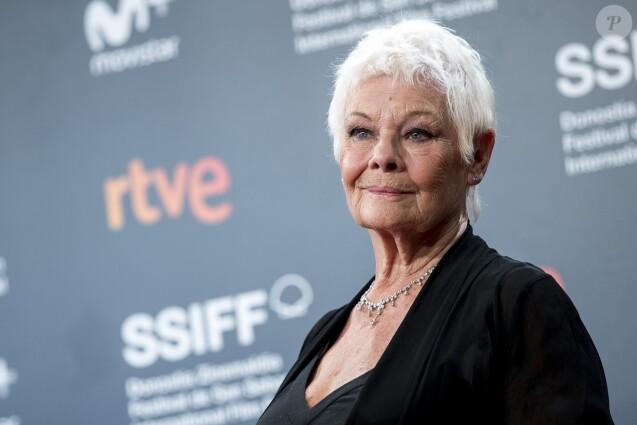 "Judi Dench honorée du prix ""Donostia"" lors du Festival International du Film de San Sebastian. Le 25 septembre 2018"