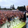 Mick Hucknall et Simply Red en concert en Grande-Bretagne le 21 juin 2009