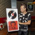 David Hallyday reçoit son disque de platine à la Seine Musicale sur l'île Seguin à Boulogne-Billancourt, le 25 juin 2019. © Pierre Perusseau/Bestimage