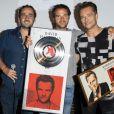 Semi-exclusif - guest - David Hallyday reçoit son disque de platine à la seine musicale à Paris le 25 juin 2019. © Pierre Perusseau/Bestimage25/06/2019 - Paris
