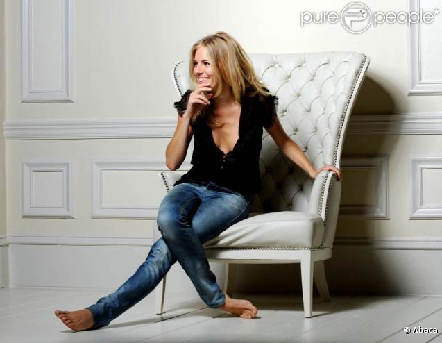 Sienna Miller dans le shooting du parfum Orange d'Hugo Boss !