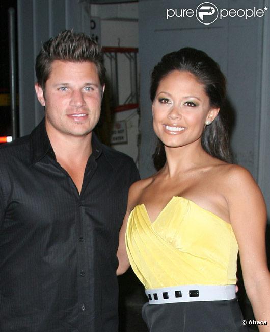 Nick Lachey et Vanessa Minnillo en mai 2009