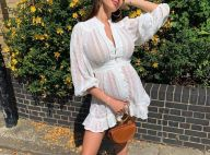 Nabilla enceinte et en robe transparente : le prix de son look