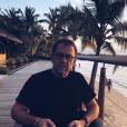 Michel Sarran à la plage, le 29 avril 2019