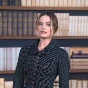 Margot Robbie : Matinale et ravissante pour le défilé Chanel