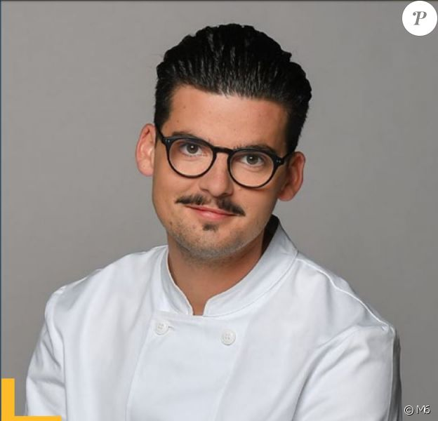 "Camille Delcroix candidat de ""Top Chef 2018"", photo officielle, M6"
