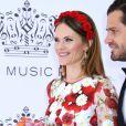 La princesse Sofia de Suède lors de la cérémonie du Polar Music Prize au Grand Hotel à Stockholm le 11 juin 2019