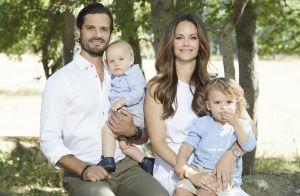 Carl Philip et Sofia de Suède : Alexander et Gabriel, adorables, célèbrent l'été