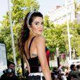 """Nikki Reed arrive au défilé de mode Haute-Couture 2019/2020 """"Elie Saab"""" au Palais de Tokyo à Paris. Le 3 juillet 2019"""