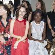 """Joséphine Japy et Karidja Touré au défilé de mode Haute-Couture automne-hiver 2019/2020 """"Elie Saab"""" à Paris. Le 3 juillet 2019 © Olivier Borde / Bestimage"""