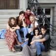 "Jennifer Aniston, Courteney Cox, Lisa Kudrow, Matt Le Blanc, Matthew Perry et David Schwimmer, les stars de ""Friends""."