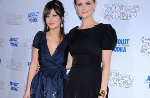 Zooey et Emily Deschanel : les jolies soeurs sont de sortie, aux côtés de leurs copines... so sexy !