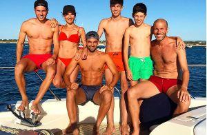 Zinédine Zidane : Son épouse divine en bikini pour une fameuse photo en famille
