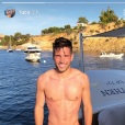 Luca Zidane en vacances à Ibiza. Instagram, juin 2018.
