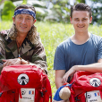 """Fabrice et Briac, candidats de """"Pékin Express 2019"""", photo officielle de M6"""