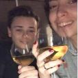 """Briac de """"Pékin Express 2019"""" avec sa petite amie Sophie, le 29 janvier 2018"""