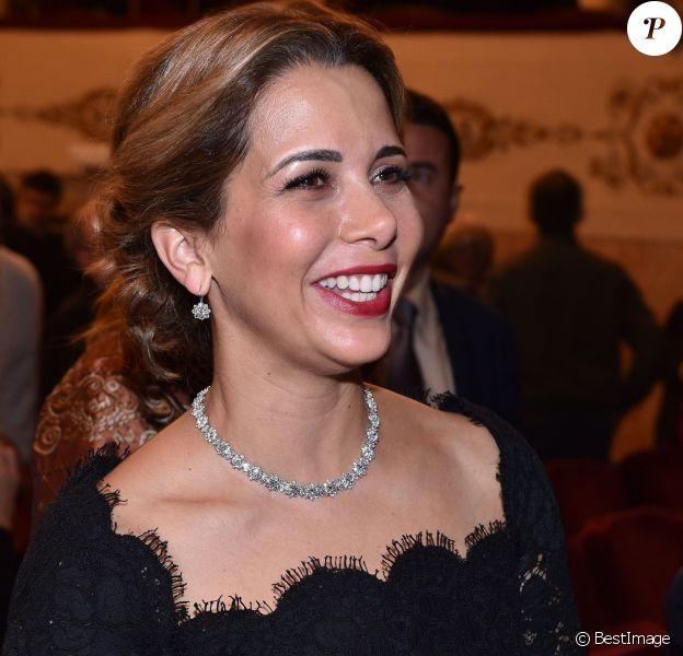 La princesse Haya de Jordanie - Remise des prix des Galileo Awards à Florence le 6 novembre 2015.