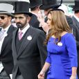 Le cheik Mohammed Bin Rashid Al Maktoum et la princesse Haya de Jordanie au Royal Ascot, le 20 juin 2012.