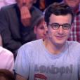 """Jean-Luc Reichmann et Paul dans """"Les 12 Coups de midi"""" le 10 mai 2019, sur TF1"""