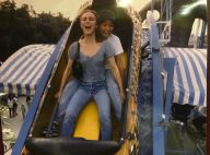 Lily-Rose Depp, Jean-Marie Bigard et Régine s'éclatent à la Fête des Tuileries