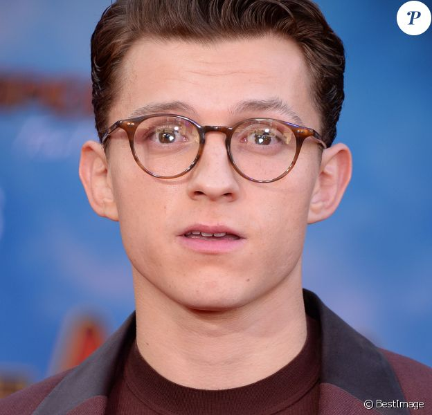 """Tom Holland à la première de """"Spider-Man Far From Home"""" au cinéma TCL Chinese Theatre à Los Angeles, le 26 juin 2019."""