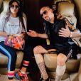 Franck Ribéry souhaite un joyeux anniversaire à sa fille aînée Hiziya sur Instagram le 18 juillet 2019.