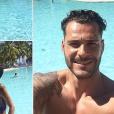 "Serena des ""Ch'tis"" et son chéri Giuseppe en vacances, le 9 avril 2019"