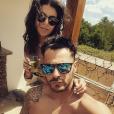 """Serena des """"Ch'tis"""" et Giuseppe amoureux en République Dominicaine, le 7 avril 2019"""