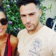 """Serena des """"Ch'tis"""" et Giuseppe complices sur Instagram, le 14 février 2019"""