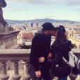 """Serena des """"Ch'tis"""" et Giuseppe en amoureux à Barcelone, le 16 décembre 2018"""