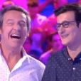 """Jean-Luc Reichmann et Paul dans """"Les 12 Coups de midi"""" sur TF1, le 18 juillet 2019."""