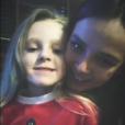 Pauline Ducruet et sa demi-soeur Linoué, fille de Daniel Ducruet et de sa compagne Kelly, en story Instagram lors de Noël 2017