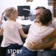 Daniel Ducruet avec ses filles Pauline Ducruet et Linoué Ducruet, chez lui au Cap d'Ail, dans le magazine Story : des vies hors normes diffusé sur M6 le 21 juillet 2019.