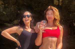Rachel Legrain-Trapani, sexy en bikini :